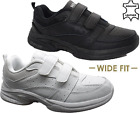 MENS NEW REAL LEATHER WIDE FIT WALKING RUNNING GYM TRAINERS CASUAL DRIVING SHOES