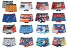 Official Boys Character Cartoon Superhero Boxer Shorts Underwear Trunks Ages 2+