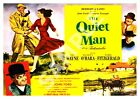 The Quite Man : Vintage  movie advertising , Poster reproduction.