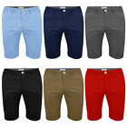 Mens Chino Shorts by Stallion Summer Cotton Half Pant Casual Designer New