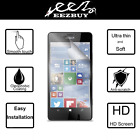 2x Clear LCD Screen Protector Guard Film For Microsoft Lumia Phones