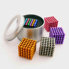 216pcs 5mm Magnetic Ball Strong Magnetic Ball DIY Toys Birthday Gifts Multicolor