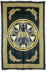 Pentacle Goddess Celtic Tapestry,Bedspread,Table Cover ~~Select Color Options ~~