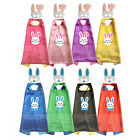 Kids Bunny costumes Capes with masks Boys girls birthday party favor