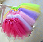 Excellent Quality Kids Girls Tutu Skirt Fancy Skirts Dress Up Party 3 Layers UK