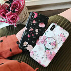 3D Red Rose Flower Case For iPhone X 8 7 6 6s Plus 5 5S Case Silicon Soft Cover  iphone x cases 3d 1124038922504040 2