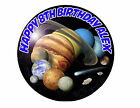 Solar System Planets Sun Moon Saturn Party Cake Decoration icing sheet Birthday