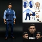 "1/6 Scale Batman Ben Affleck Head Sculpt+Clothes Set+Figure Body 12"" Hot Toys"