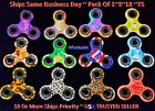 Fidget hand spinner camo tri finger kids toy EDC stress focus ADHD WHOLESALE