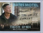 Bates Motel  -  Autograph Costume Prop And Sketch Card Selection NM Breygent