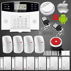 GSM Anti-Theft Detector Warning Home Security Alarm System LCD Auto Dialer BU