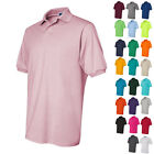 JERZEES Mens Short Sleeve Polo SpotShield 50/50 Sport Shirt