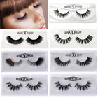 3D Mink Makeup Long Natural Cross False Eyelashes Eye Lashes Extension Handmade