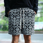 ByTheR Ethic Pattern Comfy Summer Cotton Wear Waist Banding Shorts Half Pants
