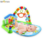 3 in 1 Newborn Baby Multifunction Play Mat Music Piano Fitness Gym Activity Mats