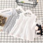 Baby Girls T shirt Summer Lace sleeveless Casual T-shirts For Kids Children's