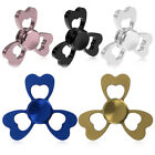 Clover Alloy Tri Fidget EDC Hand Finger Spinner Triangle Relieve Stress Toy