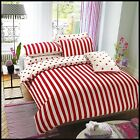 Red Duvet Cover Reversible with Pillowcase Quilt Cover Bedding Set