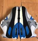 NIKE AIR MAX 90 WHITE BLUE NEW BUT CONDITIONAL BABY TD SZ 4 C  724823-101