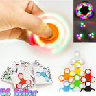 Wholesale Lot LED Light UP Fidget Hand Spinner Finger Game Desk Kids Fun Toy