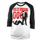 Officially Licensed Reservoir Dogs- Stand Off Baseball Long Sleeve Tee (S-XXL)