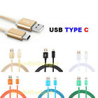 For Asus ZenPad Z10 ZT500KL USB Type C 3.1 Nylon Braided Charging Cable