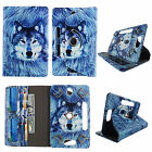 For Zeki TBQG 8 inch Tab case PU Leather Folio Stand ID Slots Cover Cover we9
