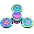 Fidget Finger Spinner Hand Focus Rainbow Spin Aluminium EDC Bearing Stress Toys <br/> Huge Selection✔️1 Year Warranty✔️High Spin Time✔️Sale✔️