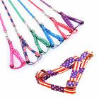Adjustable Training Dog Pet Puppy Cat Polyester Harness Lead leash Traction rope