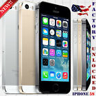 "Apple Iphone 5S (16GB 32GB 64GB) ""Factory Unlocked"" Phone IOS - 8MP 4"" HD 4G LTE"