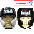 MORGAN CLOSED BOXING HEAD GUARD - sparring helmet fight box punch gear