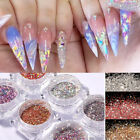 Nail Art Sugar Sandy Glitter Powder Dust Manicure Decoration