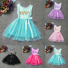 Baby Toddler Girl Summer Princess Birthday Party Pageant Tutu Tulle Dress Skirts