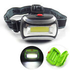 Mini COB led headlamp flashlight super bright head light torch lamp  for camping