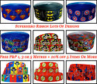 SUPERHERO CARTOON GROSGRAIN RIBBON LOTS OF DESIGNS 22mm 25mm Cake Bow Hair Clips