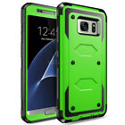 Shockproof Rugged Rubber Case Cover For SAMSUNG GALAXY S6 Edge S7 S10 S10+ S10e