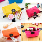 Travel Makeup Bag Toiletry Cosmetic Case Handbag Casual Storage Pouch Purse