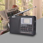 Portable Digital LCD Stereo Radio FM/MW/SW/LW World Band Receiver w/ Alarm Clock