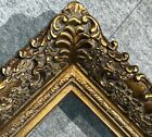 fine Picture Frame antique Gold Ornate photo museum Oil Painting Wood 256G