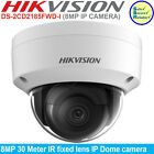 Hikvision DS-2CD2185FWD-I 2.8mm 8MP 30m IR fixed lens PoE IP67 IP Dome camera