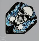 Target Pro100 Xtra Strong BlackBlue 3 Skull Design StdShape flight 1x3or5x3 Pack