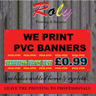 6ft x 2ft CUSTOM PERSONALISED OUTDOOR PRINTED PVC BUSINESS BANNERS SIGN VINYL