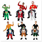 Adult Mens Piggy Back Custome Ride On Animal Stag Night Party Fancy Dress Pants