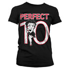 Officially Licensed Betty Boop- Betty Boop Perfect 10 Women T-Shirt S-XXL Sizes £16.99 GBP on eBay