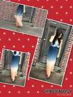 Cynthia Rowley Size S, L US Stunning Ombre Maxi Skirts New