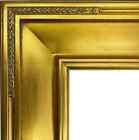 """4"""" WIDE Gold Leaf Ornate photo family Oil Painting Wood Picture Frame M4G"""