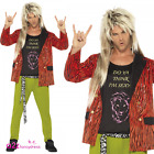 Mens 80s 80s Rock Star 1980s Adult Rod Stewart Rocker Fancy Dress Costume Wig