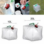 10/20L Portable Collapsible Outdoor Camping Water Storage Carrier Container Bag