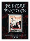 Posters Perform: Poster Auctions International, Inc. XXXV, , New Book