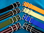 PREMIUM ZULU STYLE MILITARY WATCH STRAPS / BANDS, 18-20-22MM, FREE US SHIPPING!